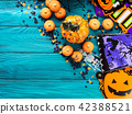 Halloween trick or treat still life 42388521