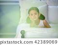 침대 어린이 42389069