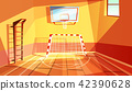 Gymnasium or gym hall vector illustration 42390628
