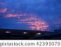 노을하는 유방 구름 42393070