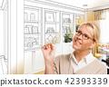 室内装饰 客厅 人物 42393339