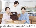 카페,바리스타,친구,한국인 42394211