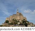 フランス、モンサンミッシェル(世界遺産) 42398877