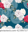 Floral seamless pattern 42399737