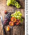 องุ่น,ลูกพีช,ผลไม้ 42400940