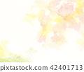 森林新綠色秋天水彩例證 42401713