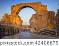 road, ruins, building 42406675