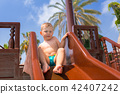 slide boy child 42407242