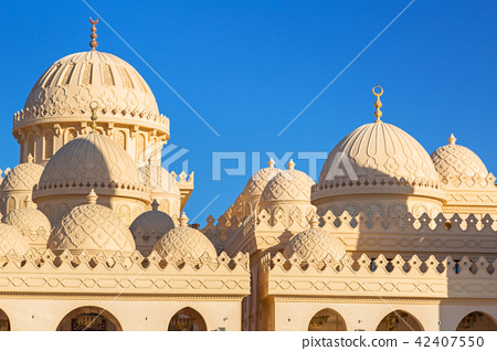 Beautiful architecture of Mosque in Egypt 42407550