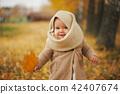 autumn, girl, fall 42407674