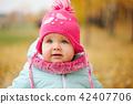 autumn, girl, fall 42407706