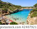The beach of Cala des Moro in Mallorca, Spain 42407921