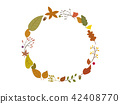 autumn autumnal frame 42408770