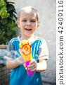 boy, bubble, child 42409116
