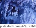 겨울의 흰 수염 폭포 야간 라이트 업 (홋카이도 비 에이 쵸) 42409169