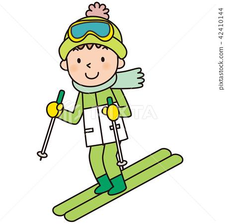 스키 스키장 42410144