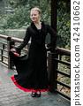 Beautiful Teenager girl dancing flamenco 42410662