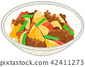 meat, and, potato 42411273
