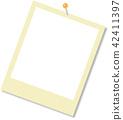 Polaroid frame 42411397