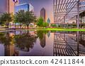 Dallas, Texas Cityscape and Plaza 42411844