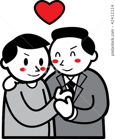 Couple between men 42412114