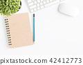 平鋪式構圖 桌子 辦公桌 42412773