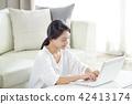 여자, 여성, 인물 42413174