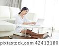 한국인, 여자, 여성 42413180