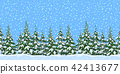 Landscape with Christmas Trees 42413677