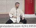 仰慕中国武术的西洋人 42413959