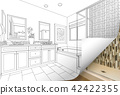Master Bathroom Drawing Page Corner Flips to Photo 42422355