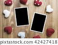 Blank photo card 42427418