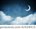 Wallpaper of cloud night skyscape. 42428415