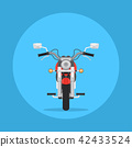 Flat style motorbike picture 42433524