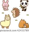 動物材料套裝2(可愛) 42433789