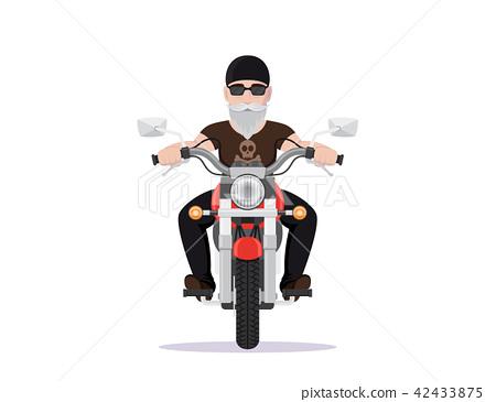 Biker character design 42433875