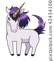 unicorn, monster, mythical beast 42434106