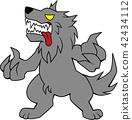 มนุษย์หมาป่า,ฮาโลวีน,คนครึ่งสัตว์ 42434112