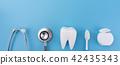 Dental concept healthy equipment  tools dental  42435343