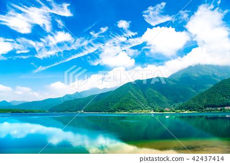 富士Goko西湖夏天視圖 42437414