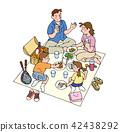 和家人一起野餐 42438292