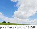ท้องฟ้า,ท้องฟ้าเป็นสีฟ้า,เมฆ 42438506