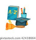 school, dictionary, book 42438664