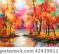 Autumn, Fall season nature background 42439911