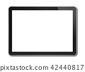 Digital tablet pc, smartphone isolated on white 42440817