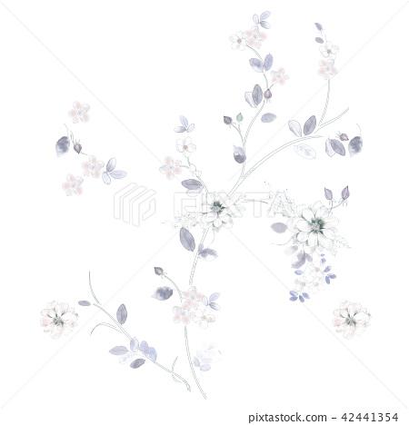 淡雅的花卉組合 42441354