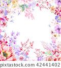 水彩 花卉 背景 42441402