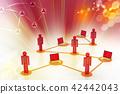 network, media, concept 42442043