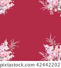 水彩手绘玫瑰花卉集合 42442202