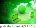 Global network and internet communication concept 42442212